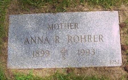 ROHRER, ANNA ROSALIE - Cuyahoga County, Ohio   ANNA ROSALIE ROHRER - Ohio Gravestone Photos