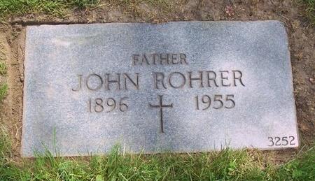 "ROHRER, JOHANN ""JOHN"" - Cuyahoga County, Ohio | JOHANN ""JOHN"" ROHRER - Ohio Gravestone Photos"