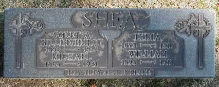 SHEA BILLINGHURST, COLETTA - Cuyahoga County, Ohio | COLETTA SHEA BILLINGHURST - Ohio Gravestone Photos