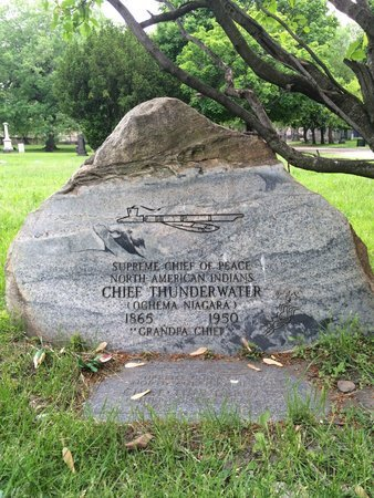 (NIAGARA INDIAN CHIEF) THUNDER, CHIEF - Cuyahoga County, Ohio | CHIEF (NIAGARA INDIAN CHIEF) THUNDER - Ohio Gravestone Photos