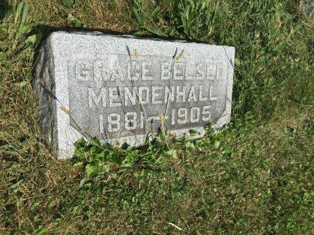 MENDENHALL BELSER, GRACE - Darke County, Ohio | GRACE MENDENHALL BELSER - Ohio Gravestone Photos