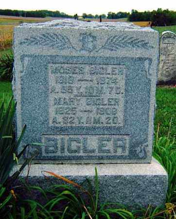 BIGLER, MOSES - Darke County, Ohio | MOSES BIGLER - Ohio Gravestone Photos