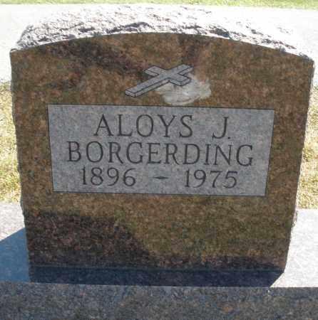 BORGERDING, ALOYS J. - Darke County, Ohio   ALOYS J. BORGERDING - Ohio Gravestone Photos