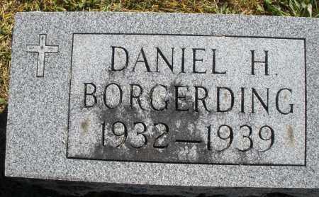 BORGERDING, DANIEL H. - Darke County, Ohio   DANIEL H. BORGERDING - Ohio Gravestone Photos