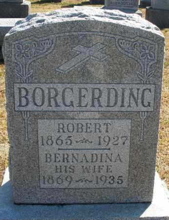 BORGERDING, ROBERT - Darke County, Ohio | ROBERT BORGERDING - Ohio Gravestone Photos