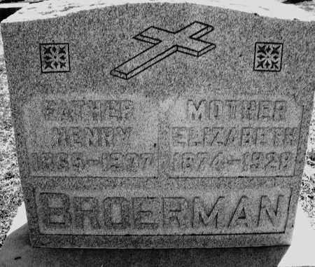 BROERMAN, HENRY - Darke County, Ohio   HENRY BROERMAN - Ohio Gravestone Photos