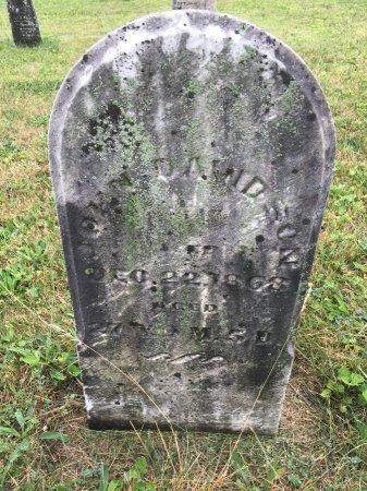 DAVIDSON, JOHN - Darke County, Ohio | JOHN DAVIDSON - Ohio Gravestone Photos