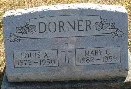 DORNER, LOUIS A. - Darke County, Ohio | LOUIS A. DORNER - Ohio Gravestone Photos