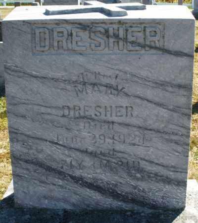 DRESHER, MARY - Darke County, Ohio | MARY DRESHER - Ohio Gravestone Photos