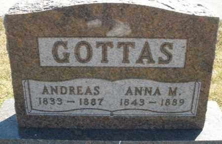 GOTTAS, ANDREAS - Darke County, Ohio | ANDREAS GOTTAS - Ohio Gravestone Photos