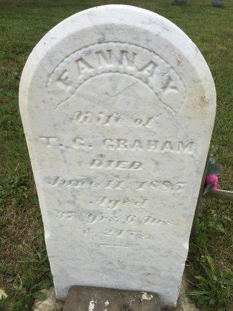 GRAHAM, FANNAY - Darke County, Ohio | FANNAY GRAHAM - Ohio Gravestone Photos