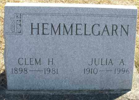 HEMMELGARN, JULIA A. - Darke County, Ohio   JULIA A. HEMMELGARN - Ohio Gravestone Photos