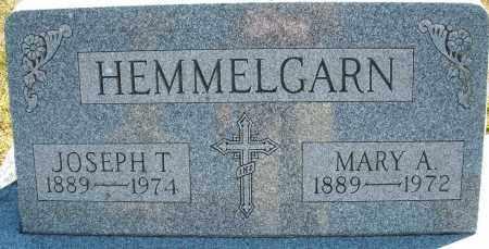 HEMMELGARN, JOSEPH T. - Darke County, Ohio | JOSEPH T. HEMMELGARN - Ohio Gravestone Photos