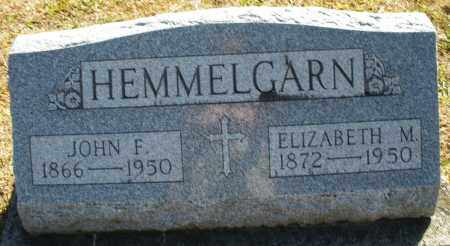 HEMMELGARN, JOHN F. - Darke County, Ohio   JOHN F. HEMMELGARN - Ohio Gravestone Photos