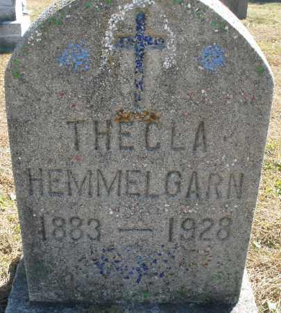 HEMMELGARN, THECLA - Darke County, Ohio | THECLA HEMMELGARN - Ohio Gravestone Photos