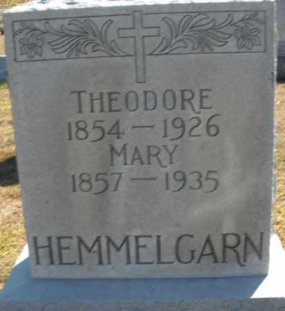 HEMMELGARN, MARY - Darke County, Ohio | MARY HEMMELGARN - Ohio Gravestone Photos