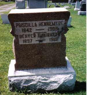HENNEMYRE, PRISCILLA - Darke County, Ohio | PRISCILLA HENNEMYRE - Ohio Gravestone Photos
