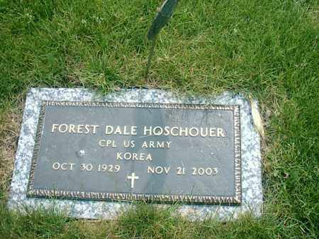 HOSCHOUER, FOREST DALE - Darke County, Ohio | FOREST DALE HOSCHOUER - Ohio Gravestone Photos