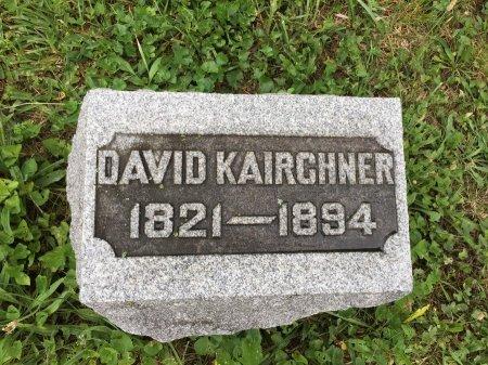 KAIRCHNER, DAVID - Darke County, Ohio | DAVID KAIRCHNER - Ohio Gravestone Photos