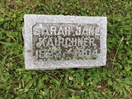 KAIRCHNER, SARAH JANE - Darke County, Ohio | SARAH JANE KAIRCHNER - Ohio Gravestone Photos
