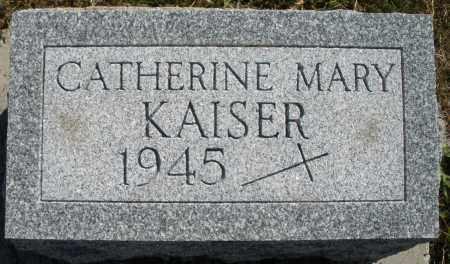 KAISER, CATHERINE MARY - Darke County, Ohio | CATHERINE MARY KAISER - Ohio Gravestone Photos