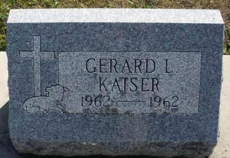 KAISER, GERARD L. - Darke County, Ohio | GERARD L. KAISER - Ohio Gravestone Photos