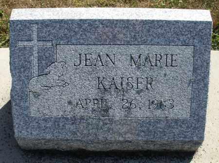 KAISER, JEAN MARIE - Darke County, Ohio | JEAN MARIE KAISER - Ohio Gravestone Photos