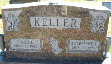 KELLER, LINUS L. - Darke County, Ohio   LINUS L. KELLER - Ohio Gravestone Photos