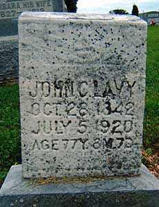 LAVY, JOHN C. - Darke County, Ohio | JOHN C. LAVY - Ohio Gravestone Photos