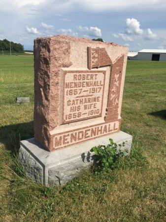 MENDENHALL, ROBERT E. - Darke County, Ohio | ROBERT E. MENDENHALL - Ohio Gravestone Photos