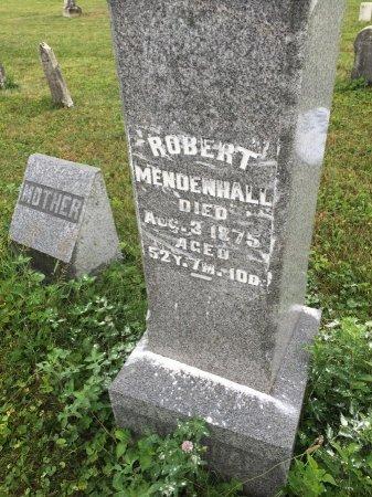 MENDENHALL, ROBERT - Darke County, Ohio   ROBERT MENDENHALL - Ohio Gravestone Photos