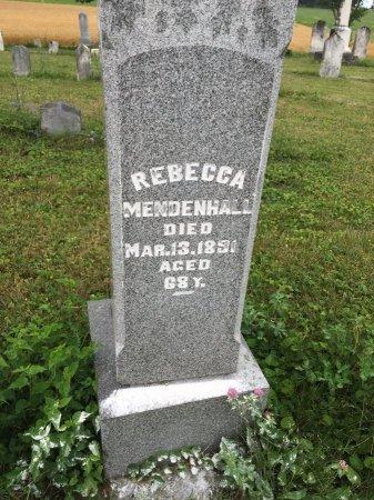DAVIDSON MENDENHALL, REBECCA - Darke County, Ohio | REBECCA DAVIDSON MENDENHALL - Ohio Gravestone Photos