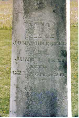 MIKESELL, ANNA - Darke County, Ohio | ANNA MIKESELL - Ohio Gravestone Photos
