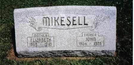 MIKESELL, ELIZABETH - Darke County, Ohio | ELIZABETH MIKESELL - Ohio Gravestone Photos