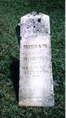 MIKESELL, MIRIAM - Darke County, Ohio | MIRIAM MIKESELL - Ohio Gravestone Photos