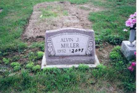 MILLER, ALVIN J. - Darke County, Ohio | ALVIN J. MILLER - Ohio Gravestone Photos