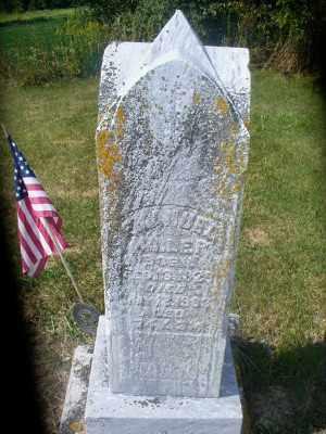 MILLER, EMANUEL CHARLES - Darke County, Ohio | EMANUEL CHARLES MILLER - Ohio Gravestone Photos