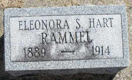 RAMMEL, ELEONORA S. - Darke County, Ohio   ELEONORA S. RAMMEL - Ohio Gravestone Photos