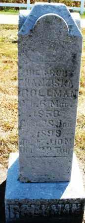 ROLLMAN, HIENROUT H. ? - Darke County, Ohio   HIENROUT H. ? ROLLMAN - Ohio Gravestone Photos