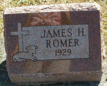 ROMER, JAMES H. - Darke County, Ohio   JAMES H. ROMER - Ohio Gravestone Photos