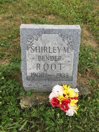 BENDER ROOT, SHIRLEY MAY - Darke County, Ohio | SHIRLEY MAY BENDER ROOT - Ohio Gravestone Photos