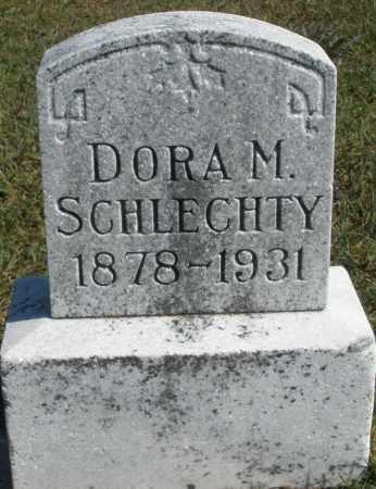 SCHLECHTY, DORA M. - Darke County, Ohio | DORA M. SCHLECHTY - Ohio Gravestone Photos