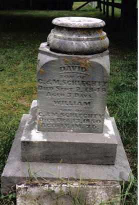 SCHLECHTY, DAVID - Darke County, Ohio | DAVID SCHLECHTY - Ohio Gravestone Photos