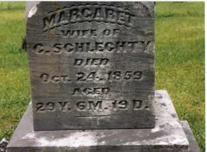 HOUSER SCHLECHTY, MARGARET - Darke County, Ohio | MARGARET HOUSER SCHLECHTY - Ohio Gravestone Photos