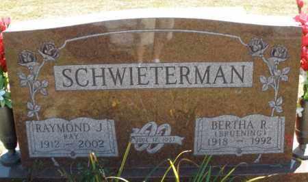 BRUENING SCHWIETERMAN, BERTHA R. - Darke County, Ohio | BERTHA R. BRUENING SCHWIETERMAN - Ohio Gravestone Photos