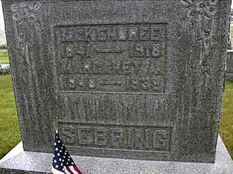 SEBRING, MCKENDREE - Darke County, Ohio | MCKENDREE SEBRING - Ohio Gravestone Photos