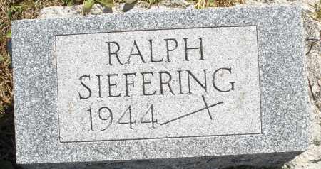 SIEFERING, RALPH - Darke County, Ohio | RALPH SIEFERING - Ohio Gravestone Photos