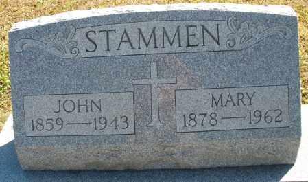 STAMMEN, JOHN - Darke County, Ohio | JOHN STAMMEN - Ohio Gravestone Photos