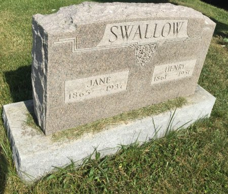 MENDENHALL SWALLOW, JANE - Darke County, Ohio | JANE MENDENHALL SWALLOW - Ohio Gravestone Photos