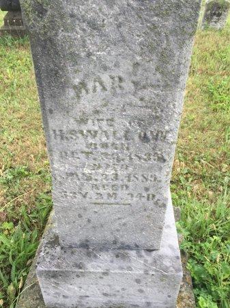 DEWEESE SWALLOW, MARY - Darke County, Ohio | MARY DEWEESE SWALLOW - Ohio Gravestone Photos